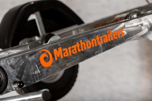 Marathon Double traileri kahdelle pyörälle