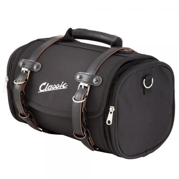 SIP Classic laukku pieni, musta nylon