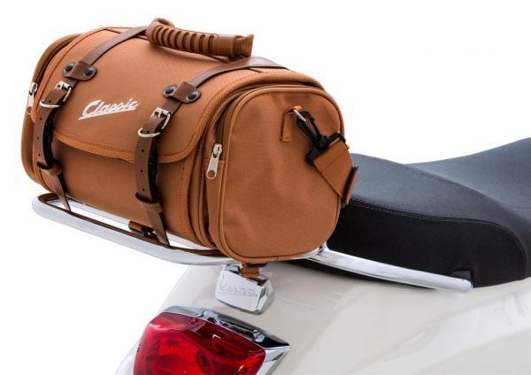SIP Classic laukku pieni, vaalean ruskea nylon