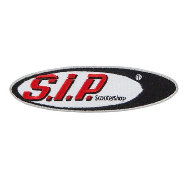 Brodeerattu SIP merkki