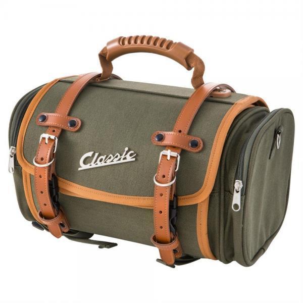 SIP Classic laukku pieni, vihreä canvas