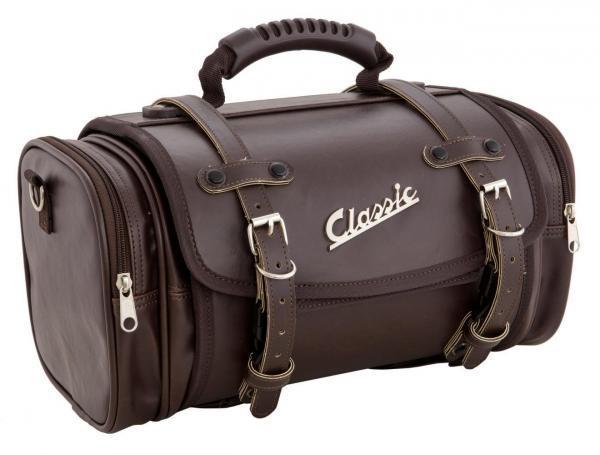 SIP Classic laukku pieni, ruskea keinonahka