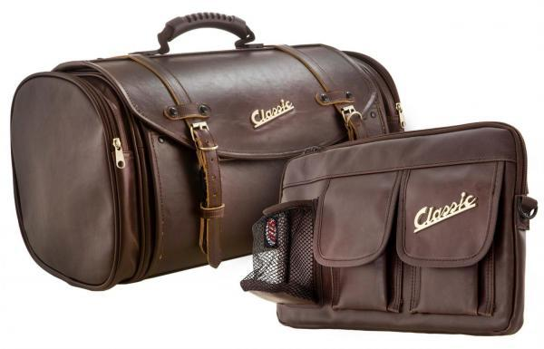 Laukku setti SIP Classic, ruskea keinonahka