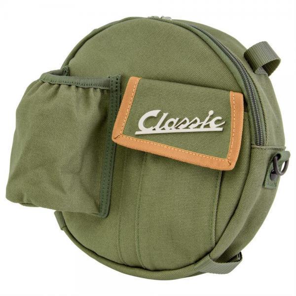 Laukku SIP Classic varapyörälle, vihreä canvas