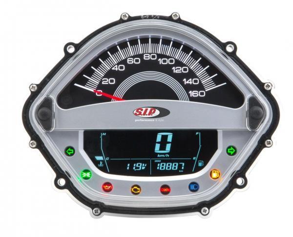 SIP monitoimi nopeusmittari, Vespa GTS 250