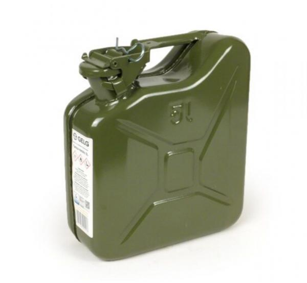 Jerry kannu 5L, oliivin vihreä