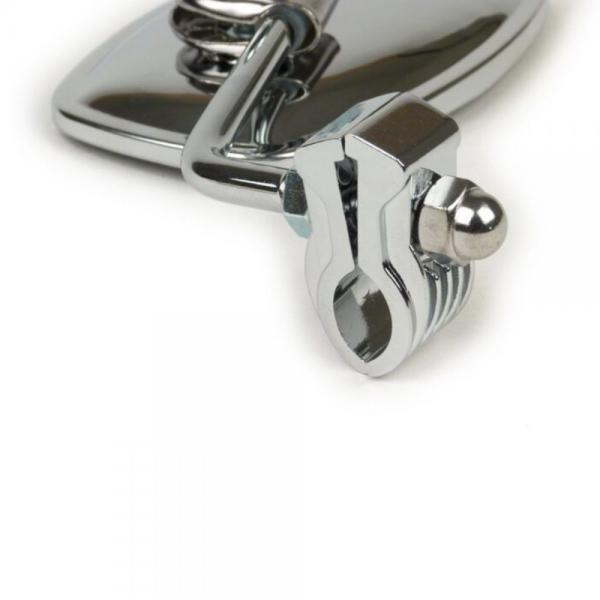 Peili SKY Clip On, kromattu yleismalli suorakaide 105x70mm