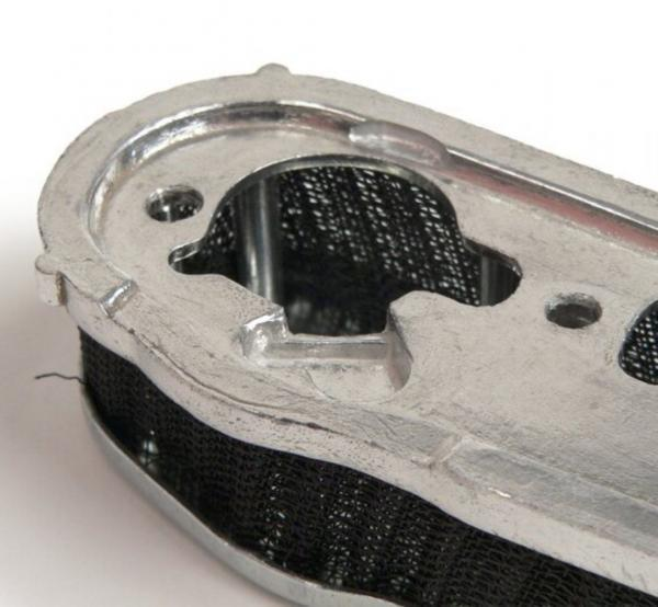 Ilmanpuhdistin, tarvike, Vespa Dellorto SI20/20D, SI24/24E, SI24/24H (pitkä malli, ilman ilmasuutin reikää)