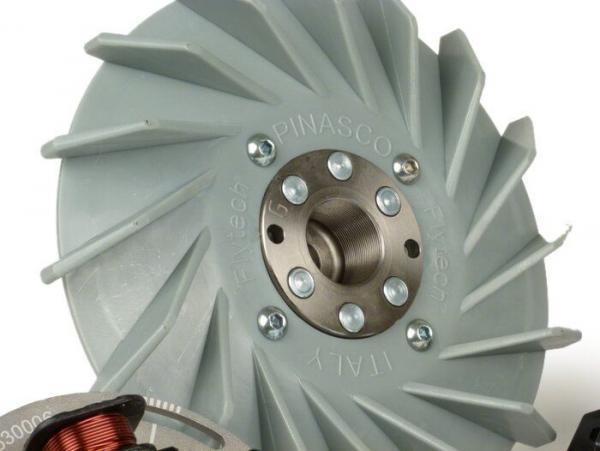 Kärjetön sytytys, Pinasco Flytech, Vespa V15-33, VM, VN, ACMA, VB1, VGL1, VLL