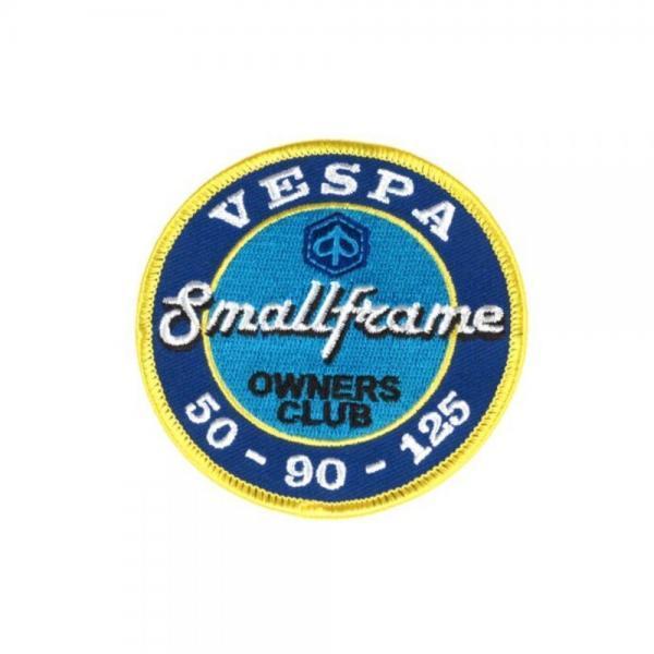 Vespa Smallframe Owners Club, kangasmerkki