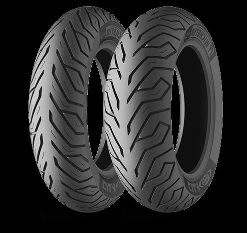 """Michelin City Grip 120/70-11"""" TL/TT 54L takarengas"""