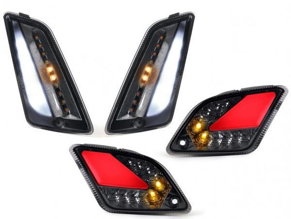 Vilkkusarja LED etu/taka, Moto Nostra, Vespa GTS (2014-2018)