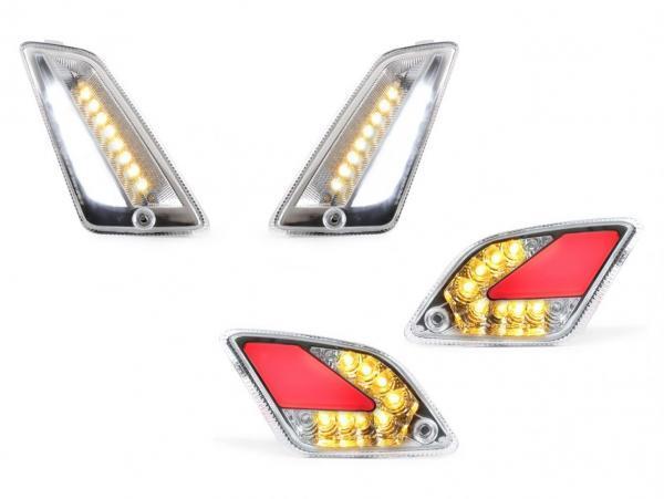 Vilkkusarja LED etu/taka kirkas, Moto Nostra, Vespa GTS (2014-2018)