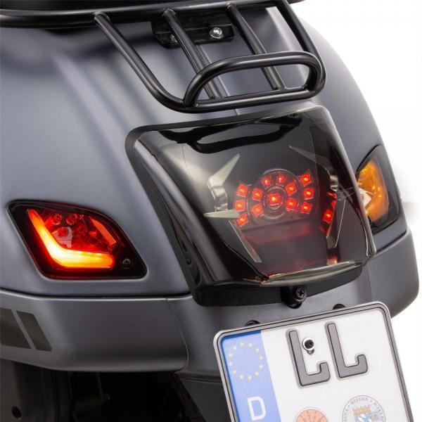 Vilkkusarja SIP eteen ja taakse LED, tummennettu, Vespa GTS, GT ja GTV