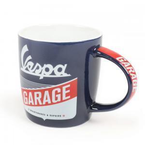 "Muki ""Vespa Garage"", Ø=85mm x 90mm, 340ml"