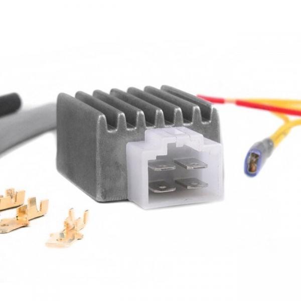 Jännitteensäädin yleismalli BGM Pro 12V AC/DC, 4 liitintä