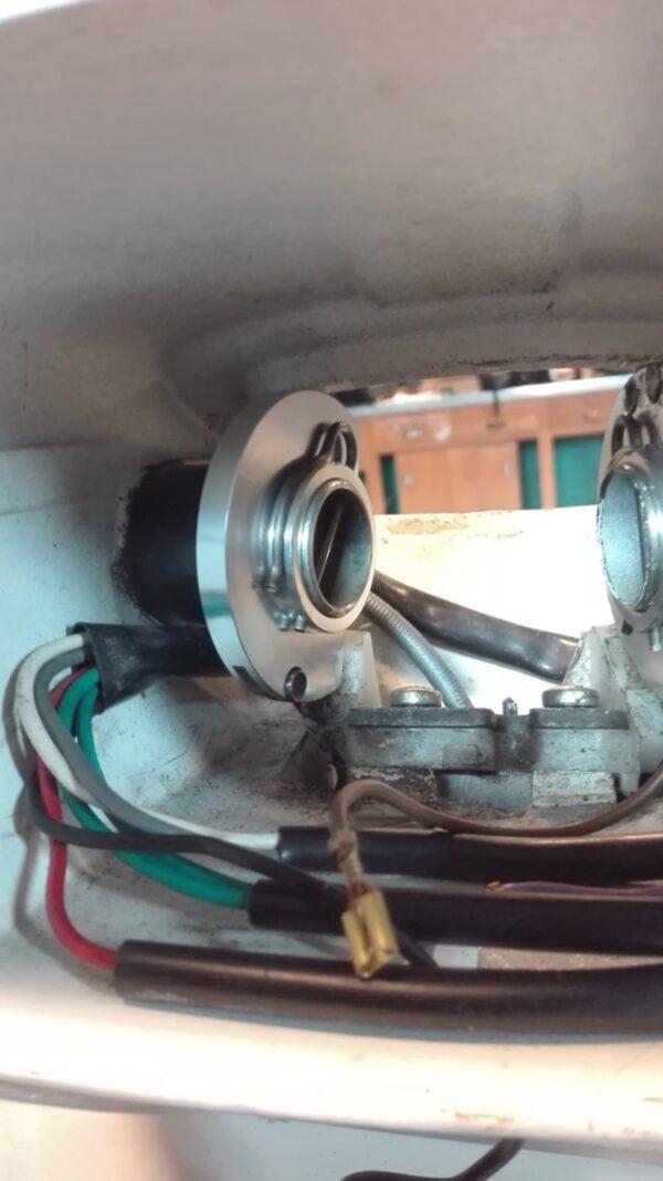 Kaasuvaijerin kiinnityslevy SIP, Vespa