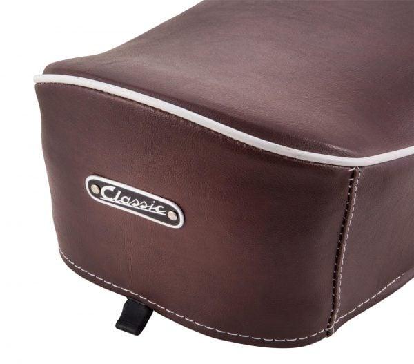 Istuin SIP Classic ruskea, Vespa 50-125 / PV / ET3