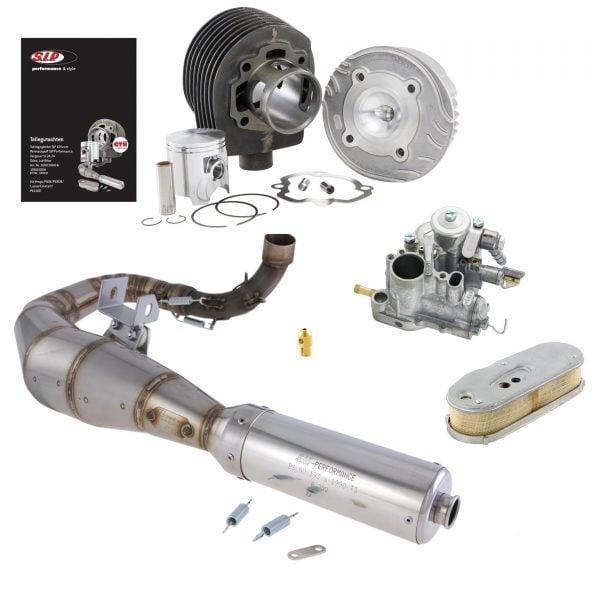 Tuning-sarja SIPcc Sport, Vespa PX80X ja PX80E