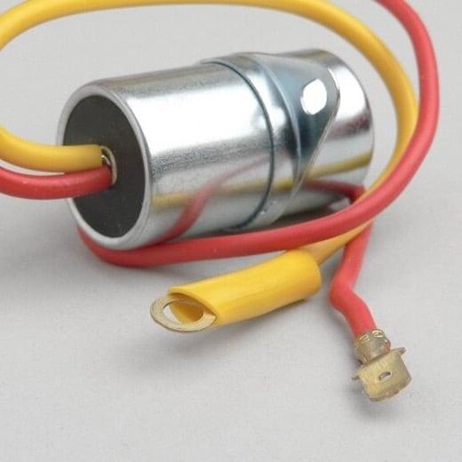 Kondensaattori Ø=20mm, 2-johtiminen - Vespa Super, Sprint ja Rally180