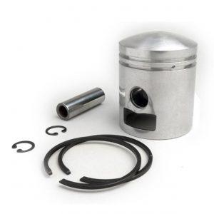 Mäntä GOL, Vespa 150cc, 2-porttinen, GL150 (VLA1T), Sprint150 (VLB1T), Super150 (VBC1T) - 57.4mm (2. ylikoko)