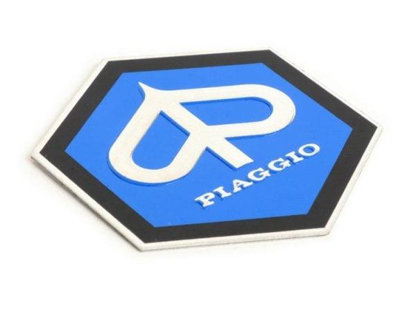 Piaggio Hexagon merkki, muovia