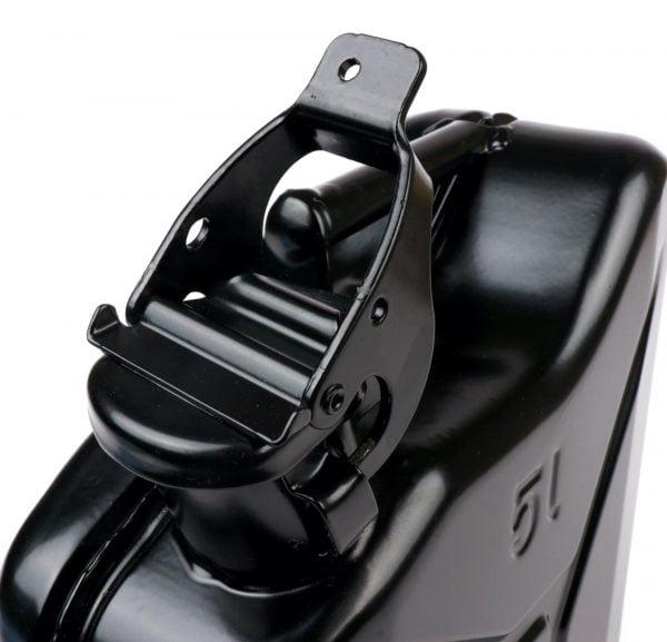 Peltinen jerry kannu 5L, musta