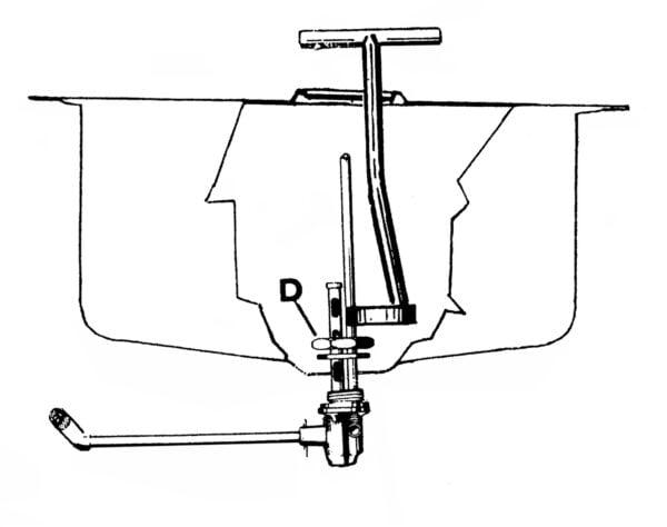 Polttoainehanan irroitustyökalu, Vespa VNA, VNB1T, VNB2T ja VBA