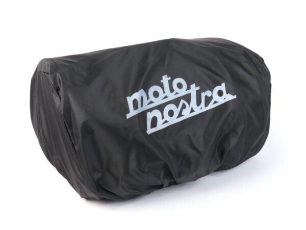 Iso putkilaukku, Moto Nostra Classic, beige vahattu canvas