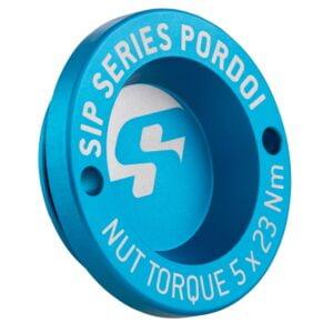 """Nappamutterin suoja 12"""", sininen SIP Pordoi, Vespa GTS, GTV ja GT"""