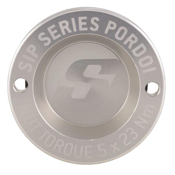 "Nappamutterin suoja 12"", hopea SIP Pordoi, Vespa GTS, GTV ja GT"
