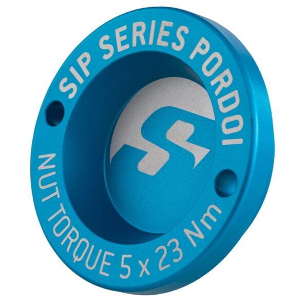 """Nappamutterin suoja 13"""", sininen SIP Pordoi, Vespa GTS, GTV ja GT"""