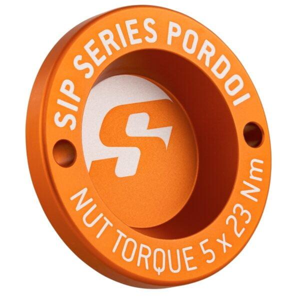 "Nappamutterin suoja 13"", oranssi SIP Pordoi, Vespa GTS, GTV ja GT"
