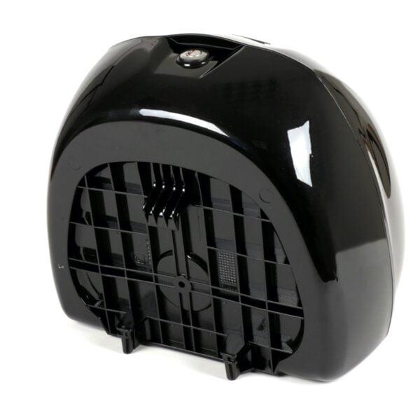 Takaboxi Piaggio 32l, musta 98/A Black Cosmo, Vespa Primavera ja Sprint