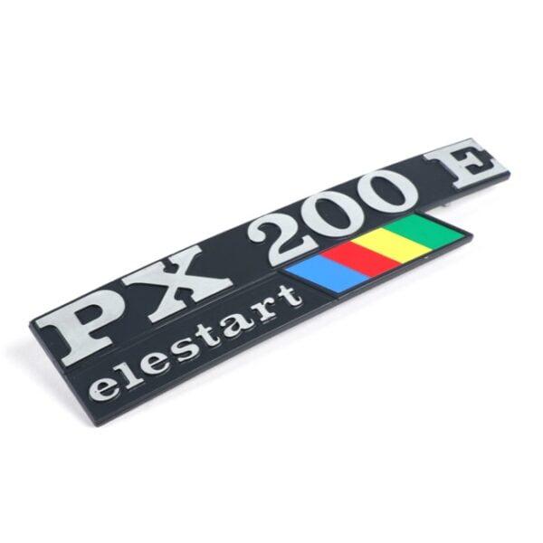 Sivupaneelin merkki, Vespa PX200E Elestart (1984-1997)