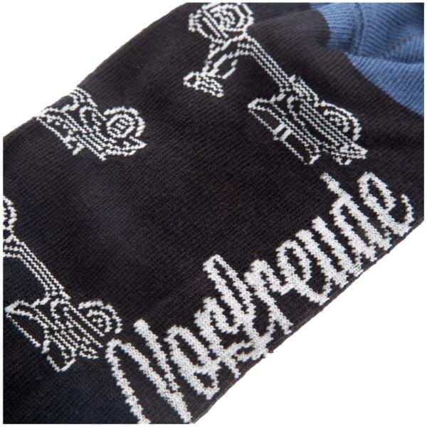 Vespa sukat, SIP musta/harmaa, koko 36-40