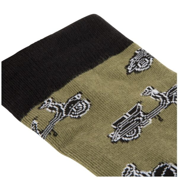 Vespa sukat, SIP vihreä/musta, koko 41-46