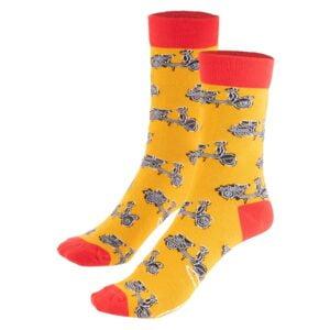 Vespa sukat, SIP oranssi/punainen, koko 41-46