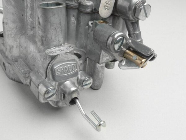 Kaasutin Dellorto / Spaco SI20/20D, Vespa PX150 (1977-1984) ilman tuoreöljyvoitelua - COD 588