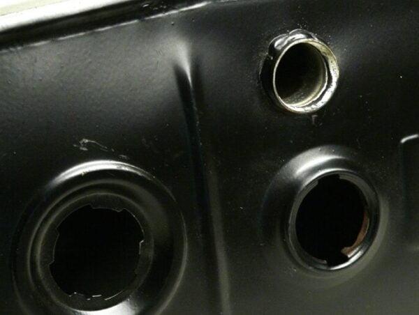 Polttoainetankki Piaggio, Vespa PX tuoreöljyvoitelulla