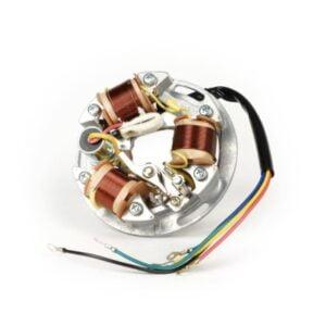 Staattori BGM Original, 5-johtiminen 6V, Vespa Sprint ,TS, GT, GTR, Super, GL150