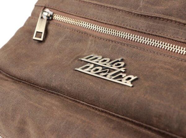 Työkalulaukku Moto Nostra ruskea, yleismalli Vespa, Lambretta, jne.