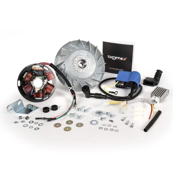 Kärjetön sytytys BGM Pro Touring, Vespa P80X, P125X ja P200E