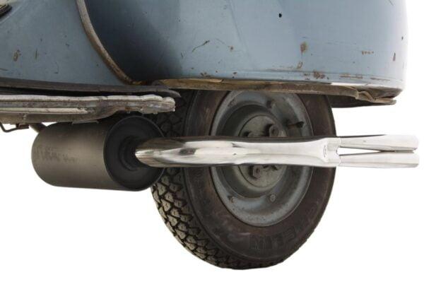 """Pakoputki SIP """"Vintage"""" Replica, Vespa 125 VNA-TS, 150 VBA-Sprint, PX80-150"""