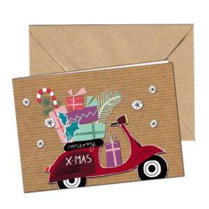 SIP joulupostikortti