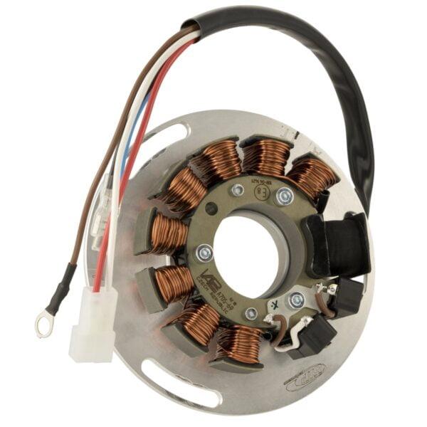 Kärjetön sytytys SIP Performance ROAD 12V AC, Vespa 125 VNA, VNB, GT, GTR 1°, Super, TS 1°, VBA, VBB, T4, GL, Sprint ja Sprint Veloce