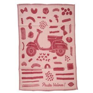 Astiapyyhe SIP Pasta Veloce, punainen